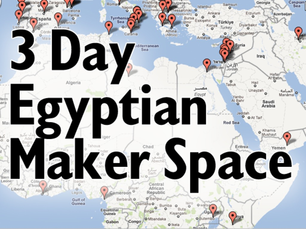 3 Day Egyptian Maker Space - Expanding the Maker Movement's video poster