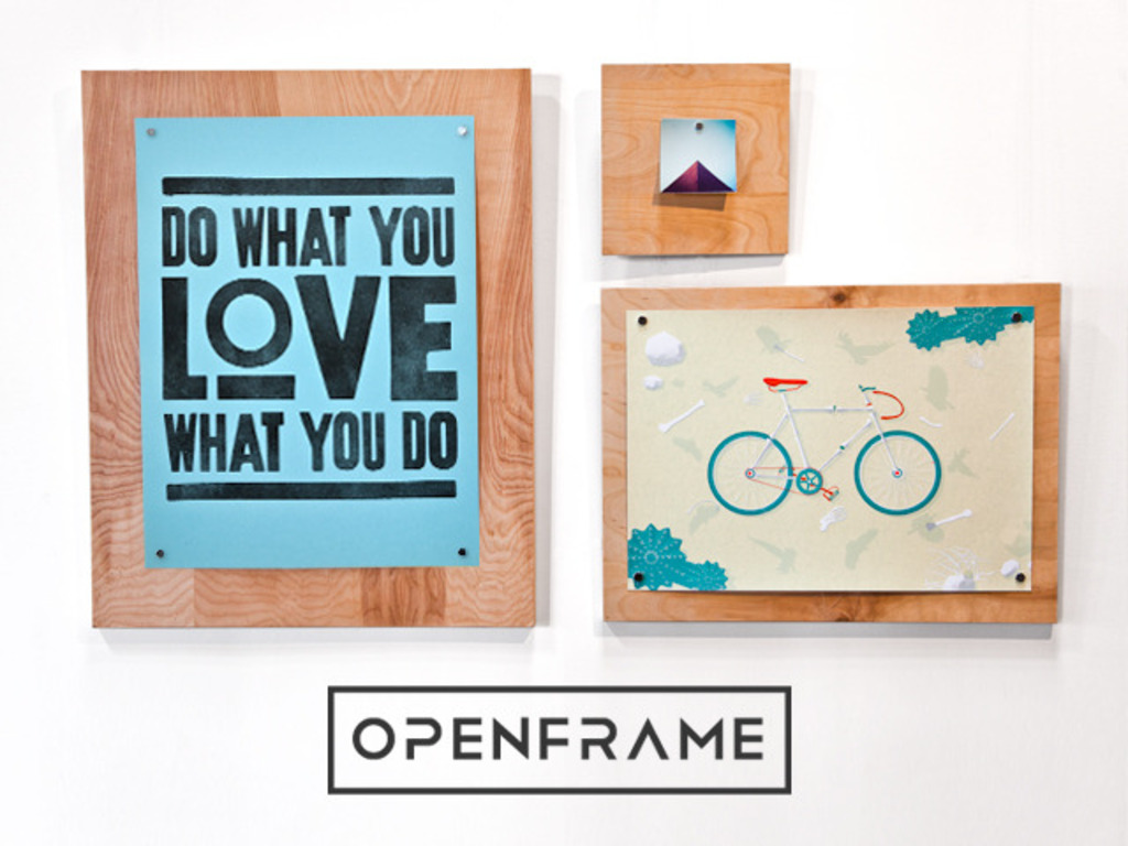 OpenFrame: A simple, flexible way to display prints & photos's video poster