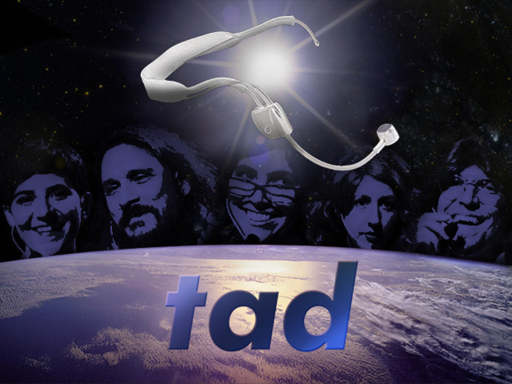 TAD's video poster