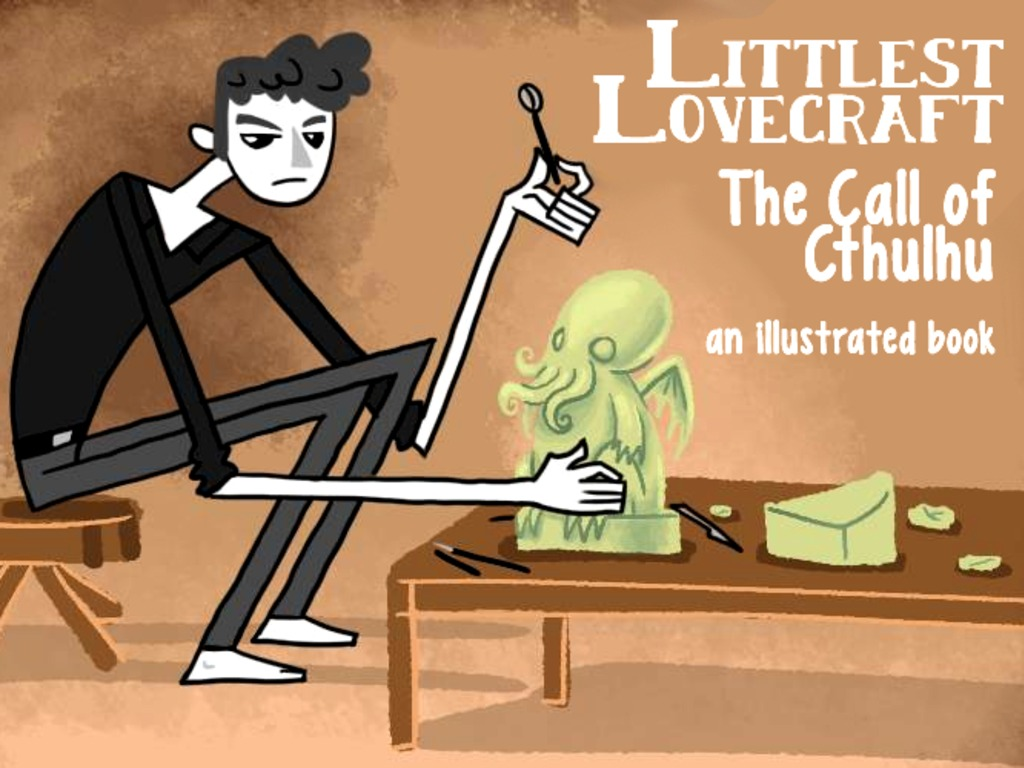 Littlest Lovecraft: The Call of Cthulhu's video poster