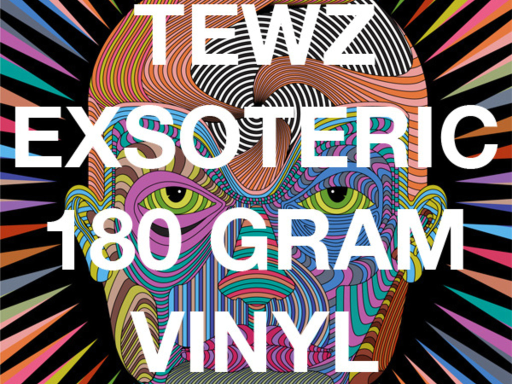 "Tewz - Exsoteric 12"" Limited Edition 180g Vinyl + Art's video poster"