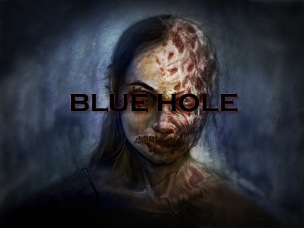 """""""BLUE HOLE"""" - a short film based on a true story's video poster"""