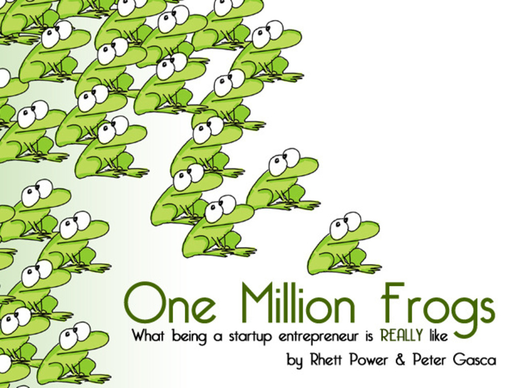 One Million Frogs's video poster