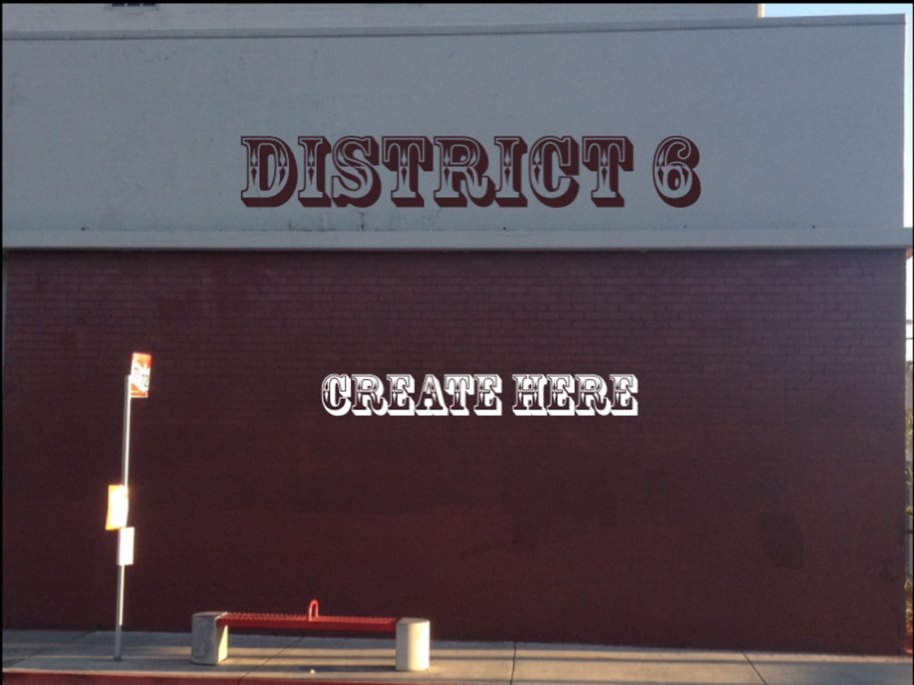 District 6 (Canceled)'s video poster