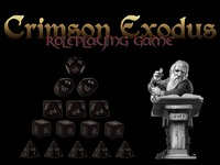 Crimson Exodus 2nd Ed Fantasy Roleplaying Game