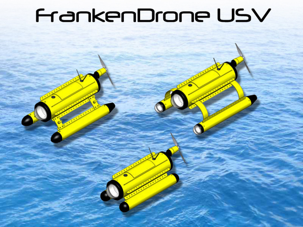 FrankenDrone USV - The DIY Unmanned Surface Vehicle's video poster