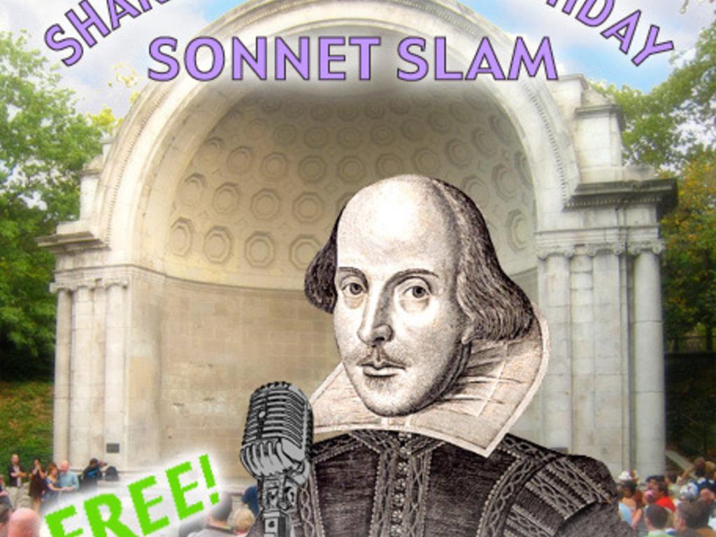 3rd Annual Shakespeare's Birthday Sonnet Slam's video poster