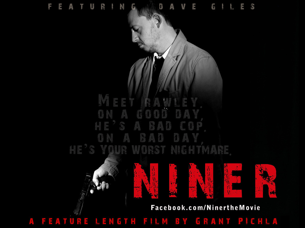 """""""Niner""""  -  a feature length film's video poster"""