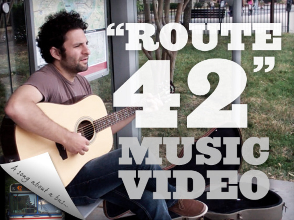 The 42 Bus - A Music Video's video poster
