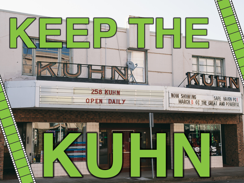 Keep the Kuhn Cinema's video poster