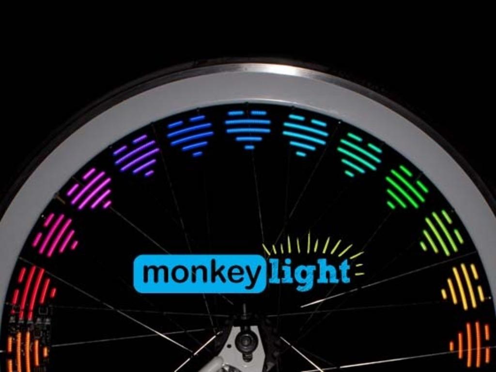 Mini Monkey Light - 8-Bit Bike Light's video poster