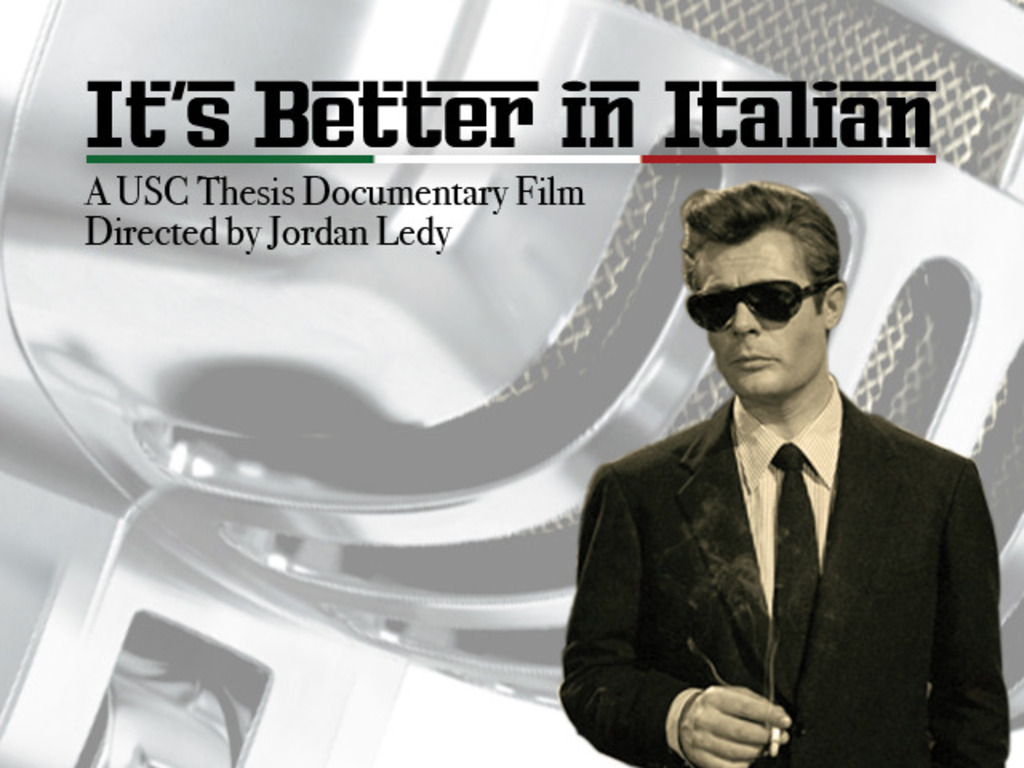 It's Better In Italian - A USC Documentary Thesis's video poster