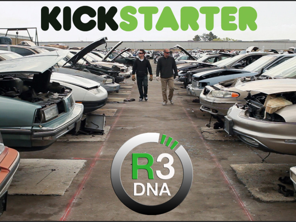R3DNA reclaimed leather goods from salvaged luxury car seats's video poster