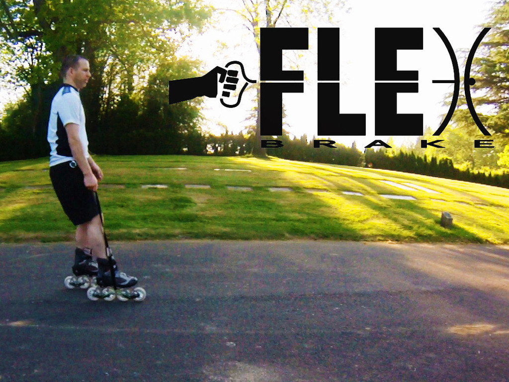 Flex Brake. Speed control for YOUR inline skates.'s video poster