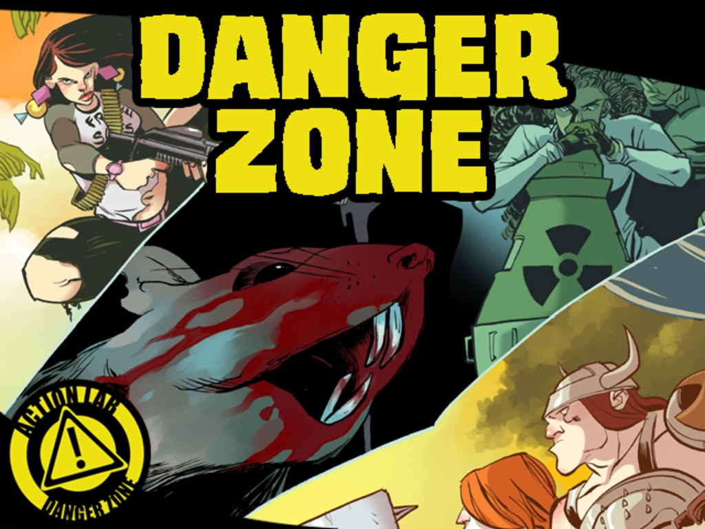 Action Lab: Danger Zone - launch's video poster