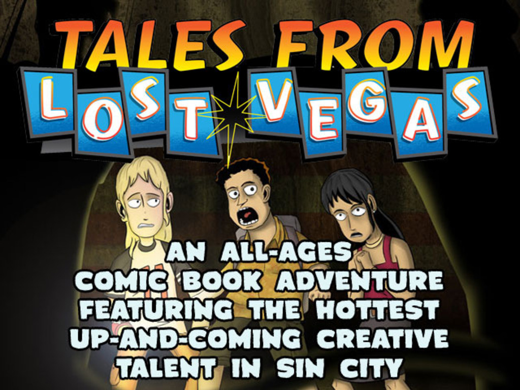 Tales From Lost Vegas: A Comic Adventure Beneath Sin City!'s video poster