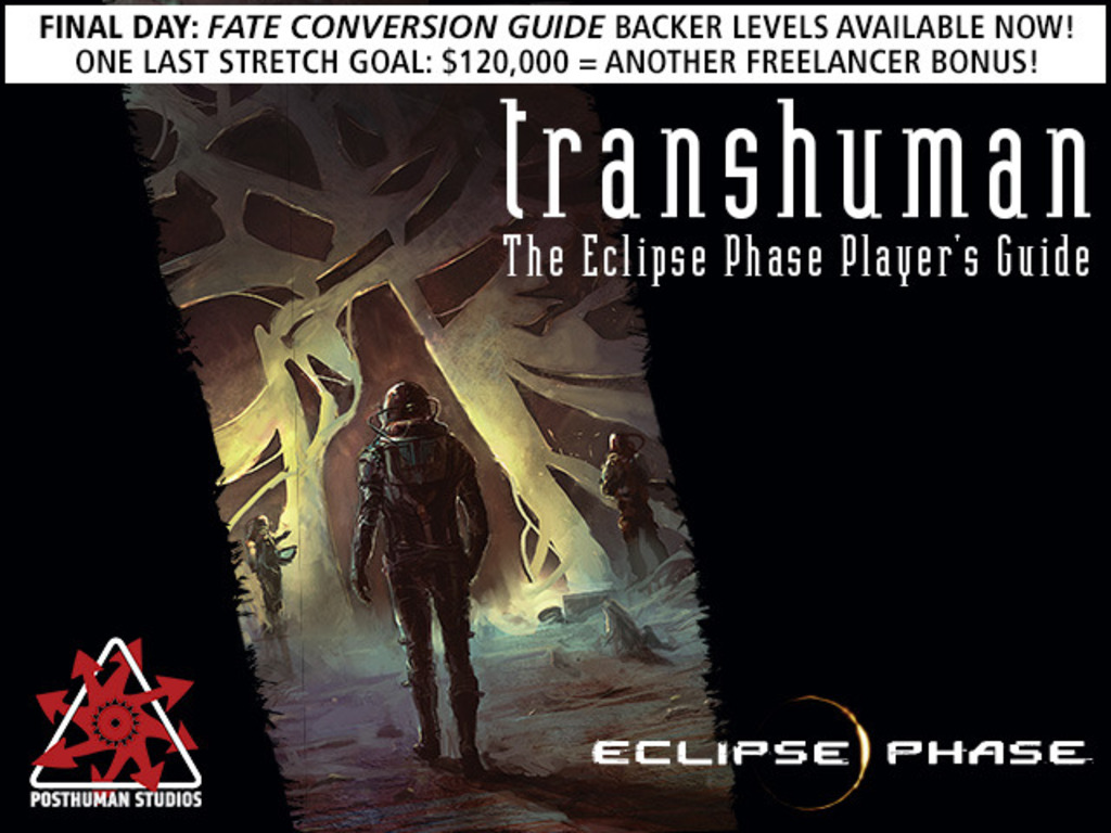 Transhuman: The Eclipse Phase Player's Guide's video poster