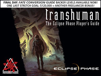 Transhuman: The Eclipse Phase Player's Guide