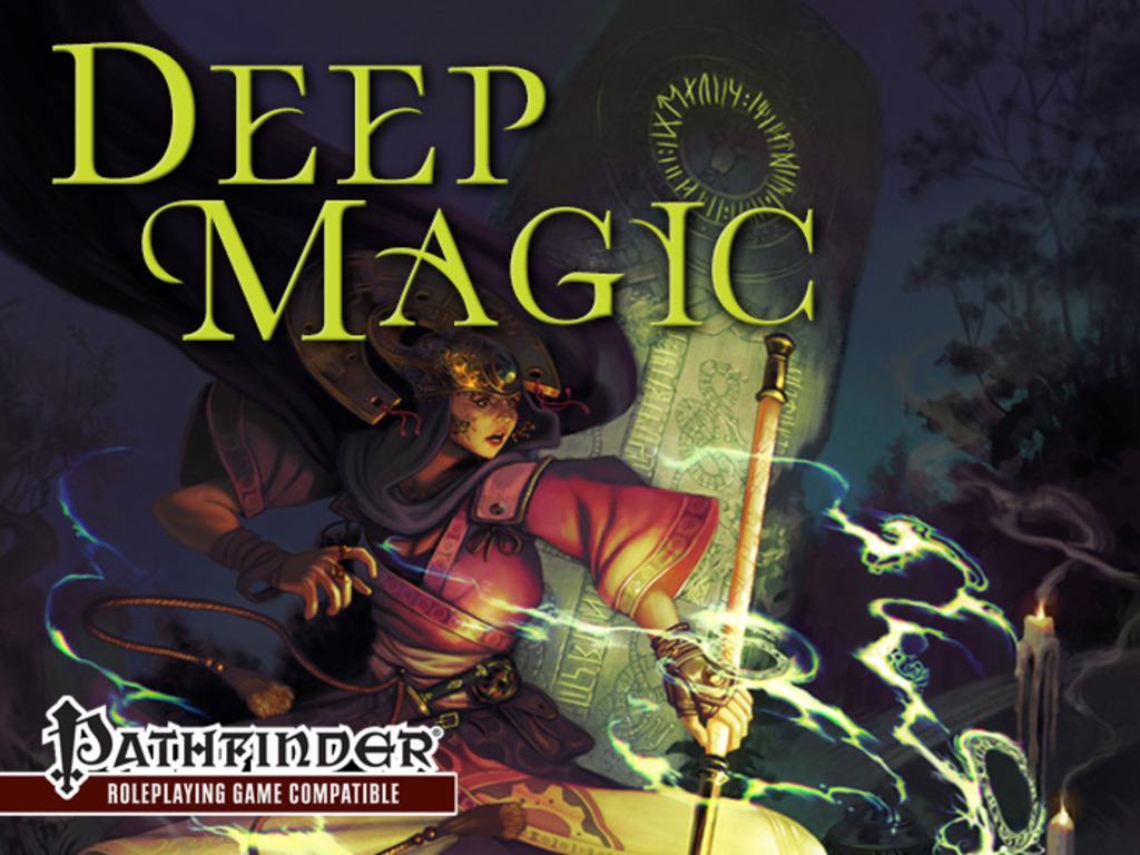 Deep Magic: A Tome of New Spells for Pathfinder RPG's video poster