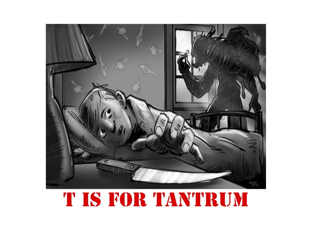 """T IS FOR TANTRUM"" - HORROR/COMEDY's video poster"