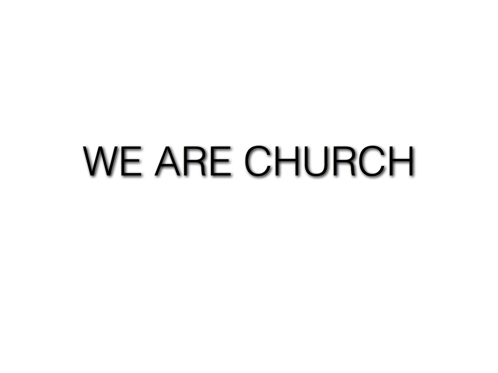 """""""We Are Church"""" Christian Rock Album by Michael James Mette's video poster"""