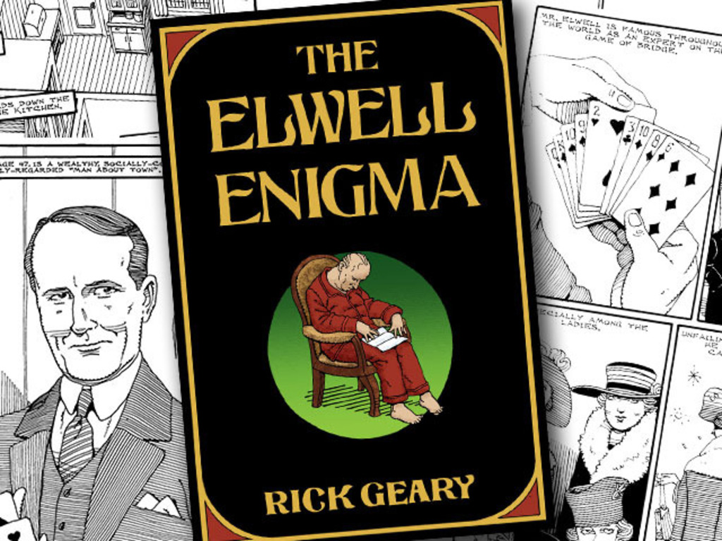 The Elwell Enigma by Rick Geary's video poster