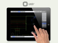 CADO™ is Computer Aided Design (CAD) for tablet devices.