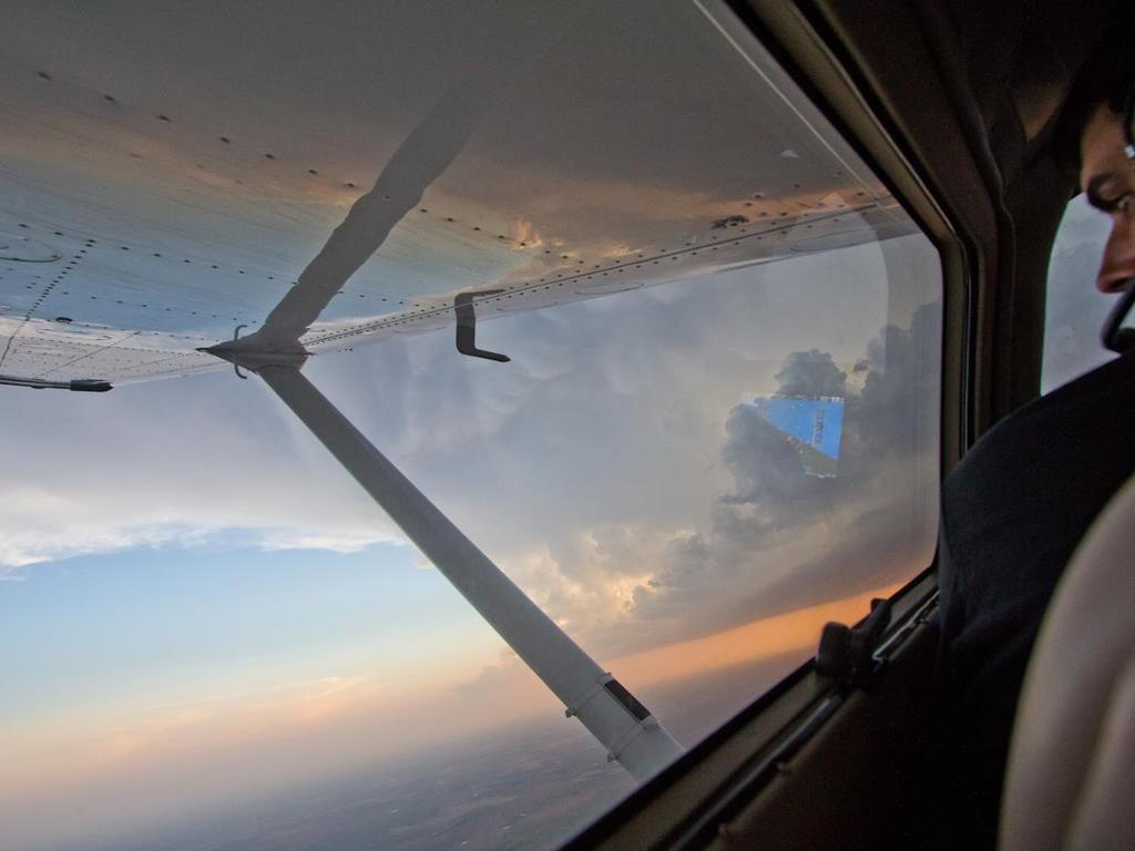 Up There - Aerial Storm Chasing's video poster