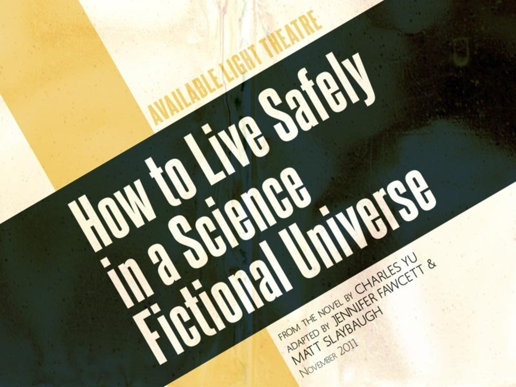 How to Live Safely in a Science Fictional Universe's video poster