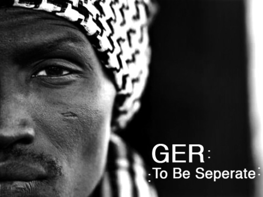Ger: To Be Separate's video poster