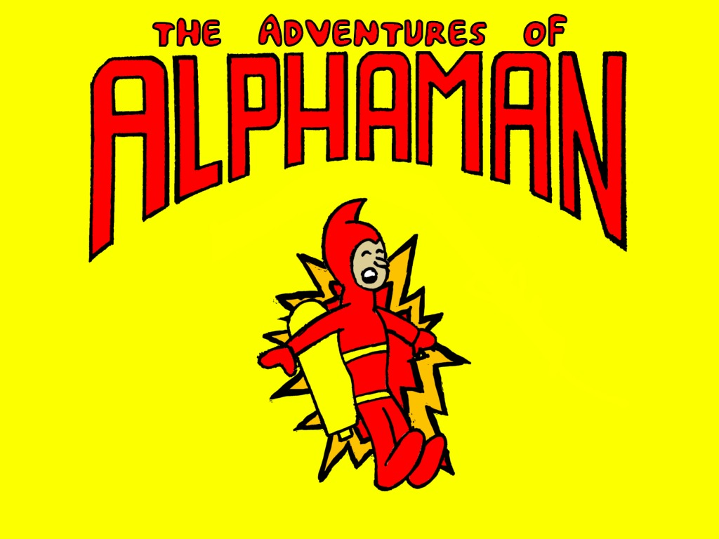 The Adventures of Alphaman's video poster