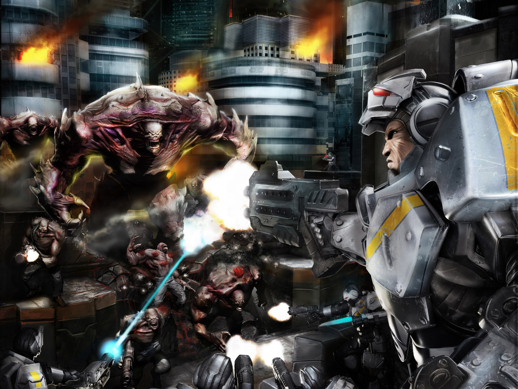 Deadzone: The Sci-fi Miniatures Board Game's video poster