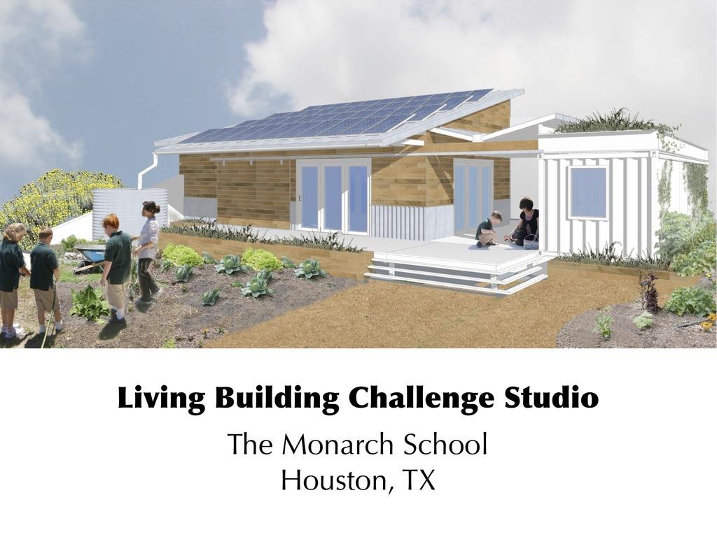 Living Building Challenge, meet Houston.'s video poster