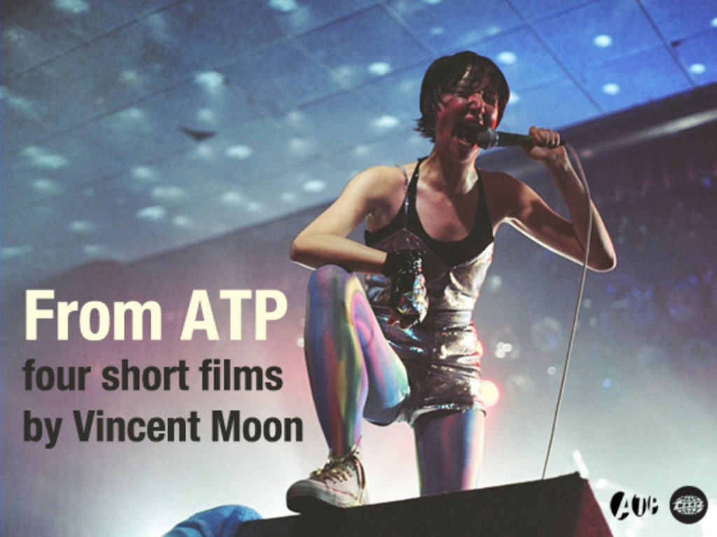From ATP - four short films by Vincent Moon's video poster