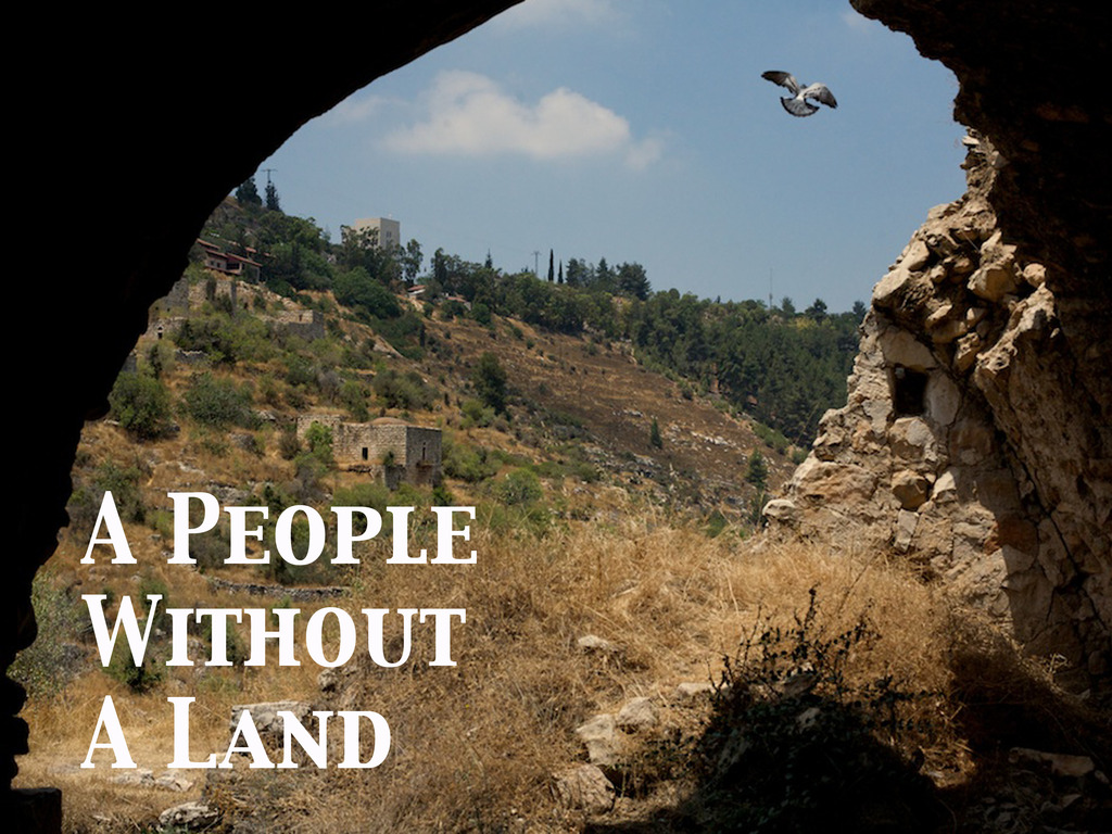 A People Without A Land's video poster