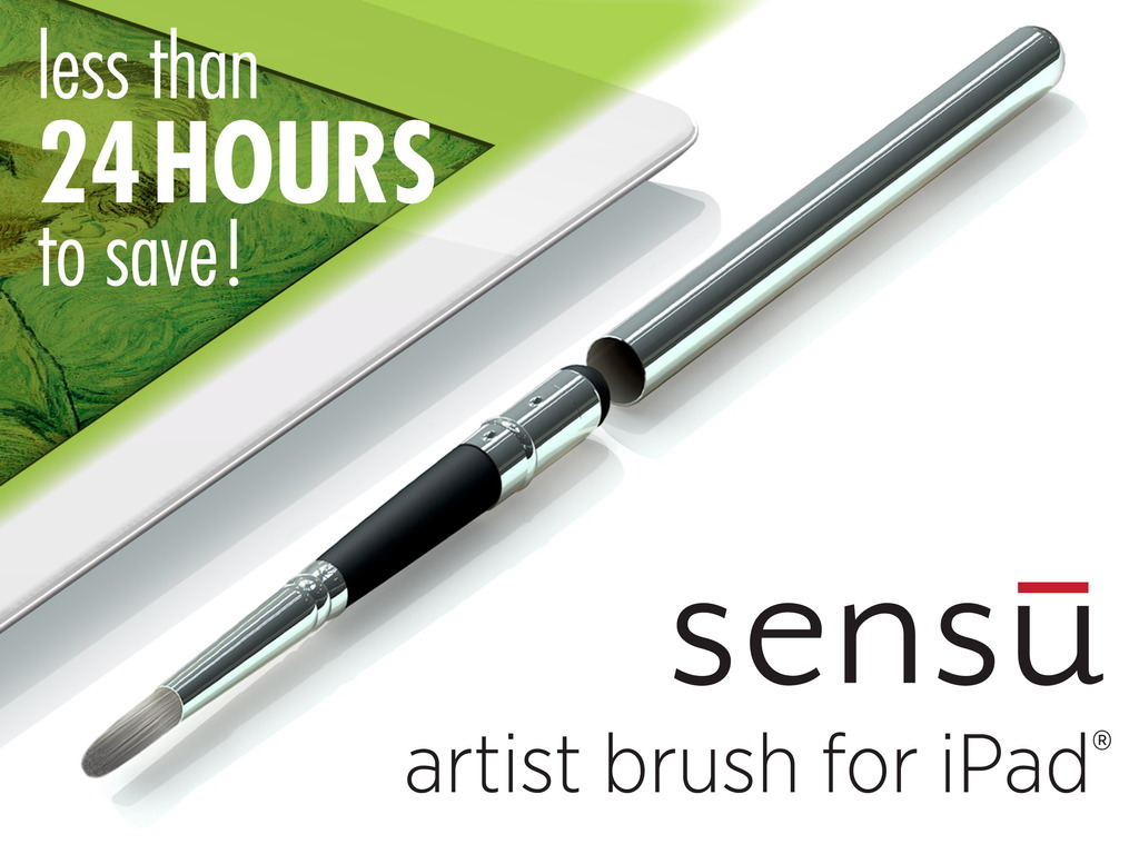 Sensu Brush: A True Painting Experience on Your iPad's video poster