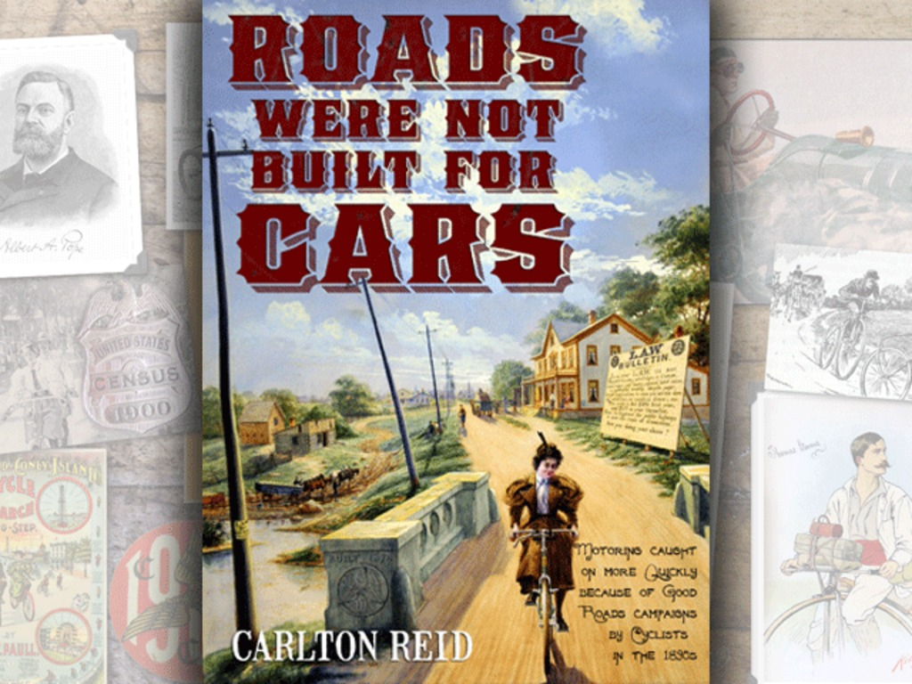 Roads Were Not Built For Cars book & Kindle & iPad versions's video poster