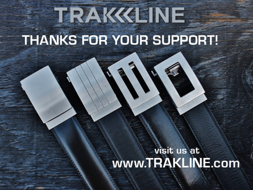 TRAKLINE:  a new kind of belt for men's video poster