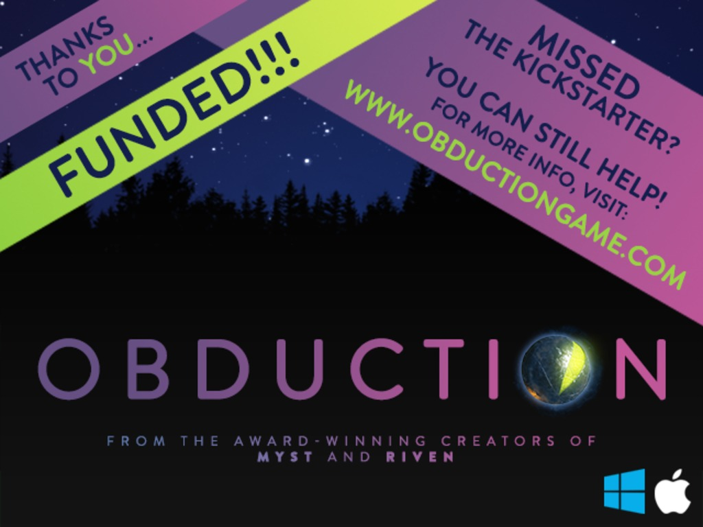 Obduction's video poster