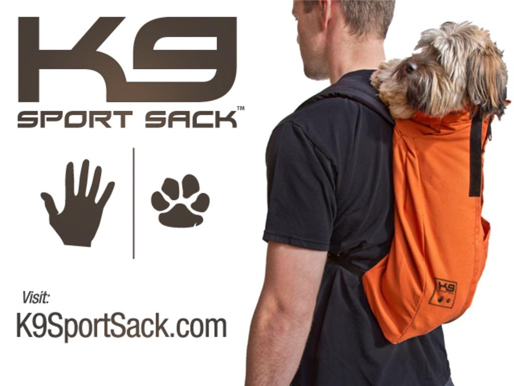 K9 Sport Sack: Unique Dog Transportation Bag's video poster