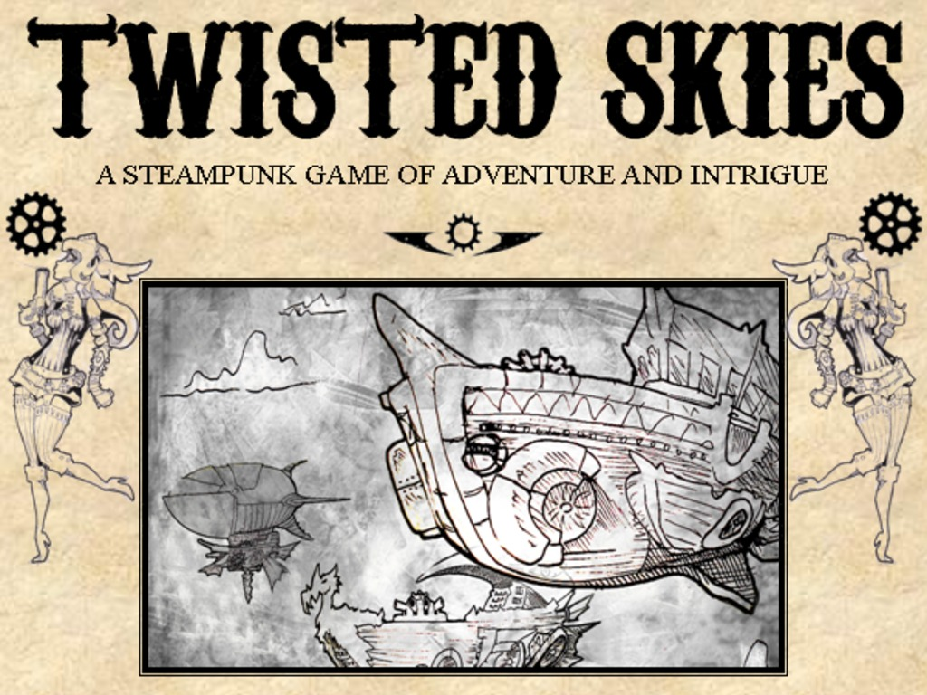 Steampunk Card Game! TWISTED SKIES's video poster