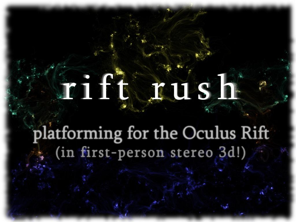 Rift Rush: First Person Platformer for Oculus Rift's video poster