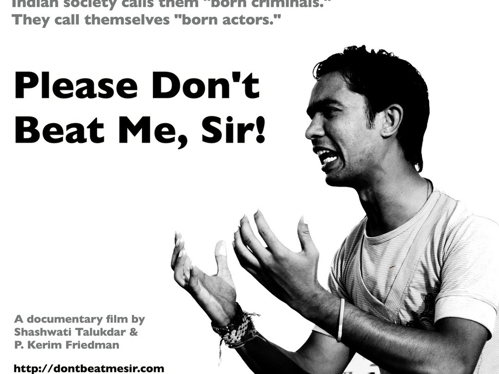 Please Don't Beat Me, Sir! - Documentary film set in India's video poster