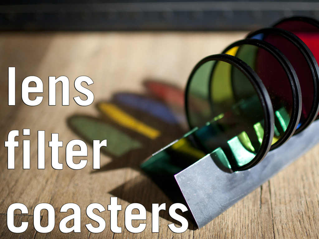 Lens Filter Coasters (Canceled)'s video poster