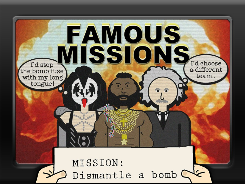 Famous Missions: A Fast & Fun Creative Multiplayer Card Game's video poster
