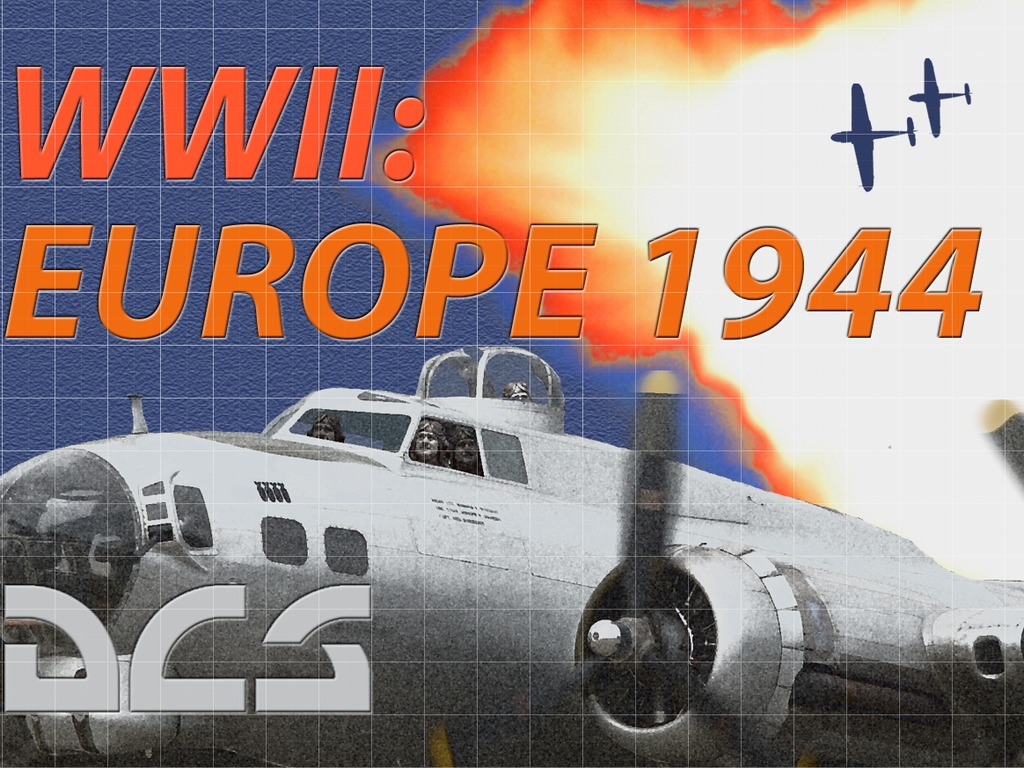 DCS WWII: Europe 1944's video poster