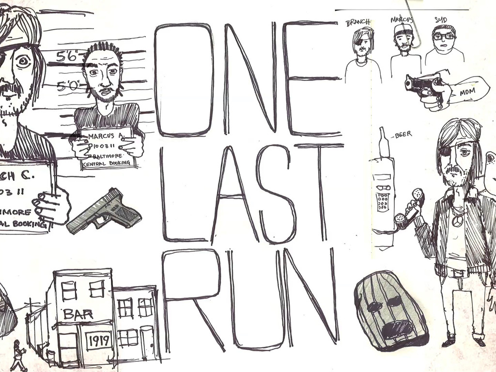 """""""ONE LAST RUN"""" a short by Hilton Carter's video poster"""