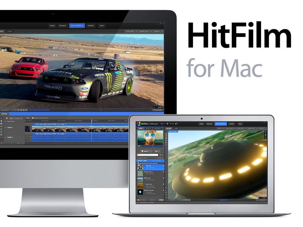 HitFilm for Mac's video poster