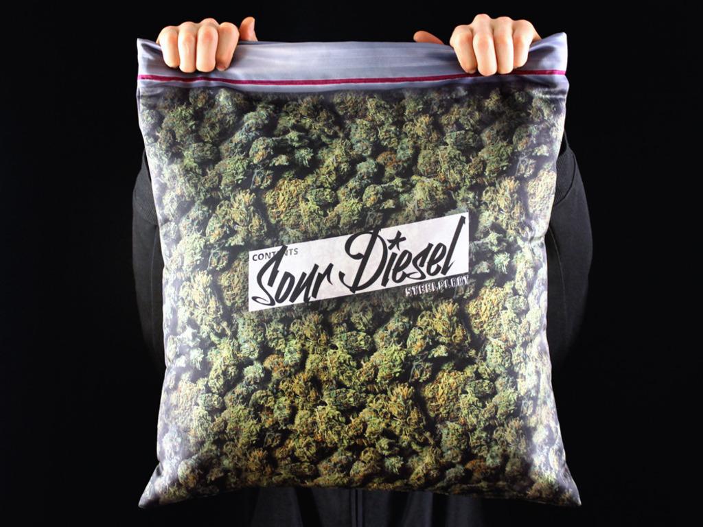 Giant Stash Pillowcase - Plus size ziplock of cannabis's video poster