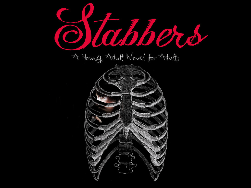 STABBERS - The First Young Adult Novel for ADULTS's video poster